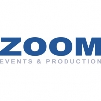 Zoom Events & Production Logo Vector Download