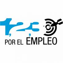 1,2,3, Por El Empleo Logo Vector Download