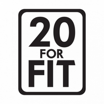 20 For Fit Logo Vector Download