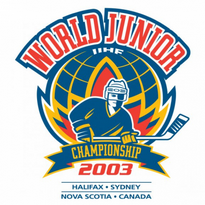 2003 Iihf World Junior Championship Logo Vector Download
