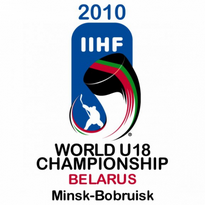2010 Iihf World U18 Championship Logo Vector Download