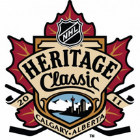 2011 Nhl Heritage Classic Logo Vector Download