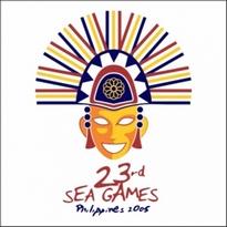 23rd Sea Games Philippines 2005 Logo Vector Download
