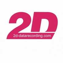 2d Data Recording Logo Vector Download
