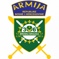 306 Brdska Brigada Armija Bih Logo Vector Download