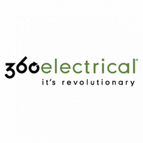 360 Electrical Logo Vector Download