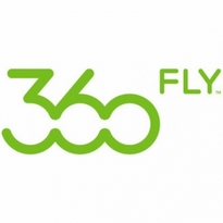 360 fly logo vector
