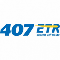 407 Etr Express Toll Route Logo Vector Download