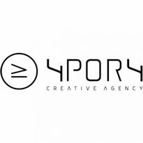 4por4  Creative Agency Logo Vector Download