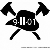 911 Fire Decal Logo Vector Download