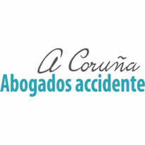 abogados accidente corua logo vector