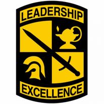 army rotc logo vector