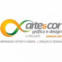 Arte Amp Cor Ind Grafica Logo Vector Download