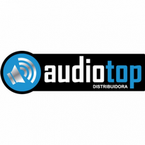 audiotop distribuidora logo vector
