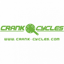 Crank Cycles Logo Vector Download