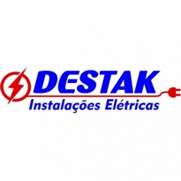 Destak Instalaes Eltricas Logo Vector Download