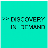 Discovery In Demand Logo Vector Download