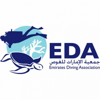 emirates diving association logo vector
