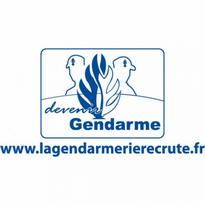 Gendarmerie  Devenir Gendarme Logo Vector Download