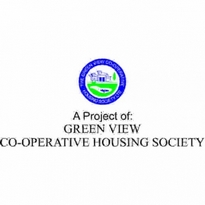 Green View Cooperative Housing Society Logo Vector Download