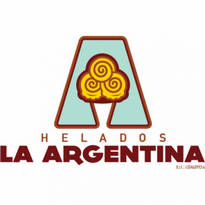 Helados La Argentina Logo Vector Download