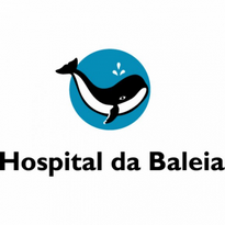 hospital da baleia logo vector