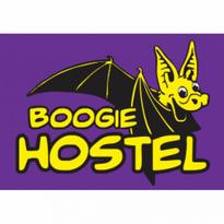 hostel boogie wrocaw logo vector