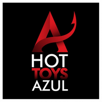 hot toys azul logo vector