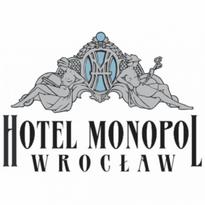 hotel monopol wrocaw logo vector