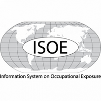Information System On Occupational Exposure Isoe Logo Vector Download