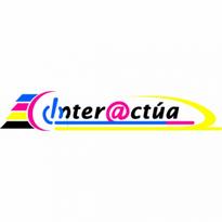 Interactua Logo Vector Download