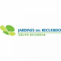 jardines del recuerdo logo vector