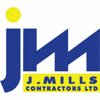 Jay Mills Contracting Logo Vector Download