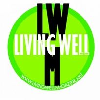 Living Well Magazine Logo Vector Download
