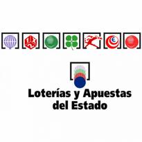 loterias y apuestas del estado logo vector