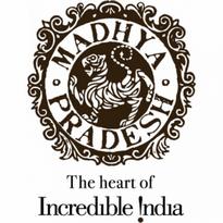 madhya pradesh tourism logo vector