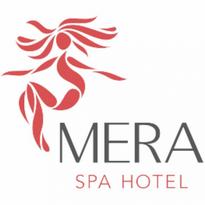 mera spa hotel logo vector