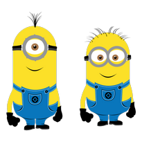 Minions Characters Logo Vector Download