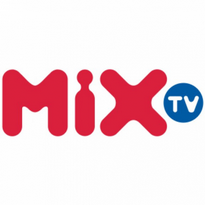 mix tv logo vector
