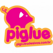Piglue Adesivos Logo Vector Download