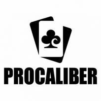 procaliber poker logo vector