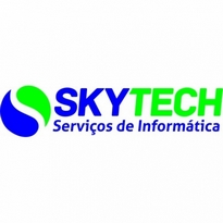 Sky Tech Informtica Logo Vector Download