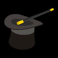 Sombrero De Mago Logo Vector Download
