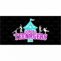 Teenagers Circo Logo Vector Download