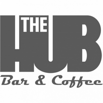 The Hub Bar Amp Coffee Logo Vector Download