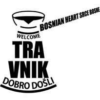 Travnik Welcome Dobro Doli Logo Vector Download
