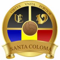 Ue Santa Coloma Logo Vector Download