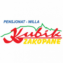 villa kubik zakopane logo vector
