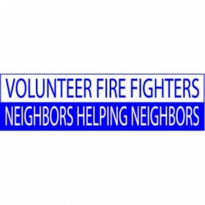 Volunteer Firefighters Neighbors Helping Neighbors Logo Vector Download