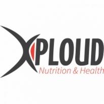 Xploud Nutrition Amp Health Logo Vector Download